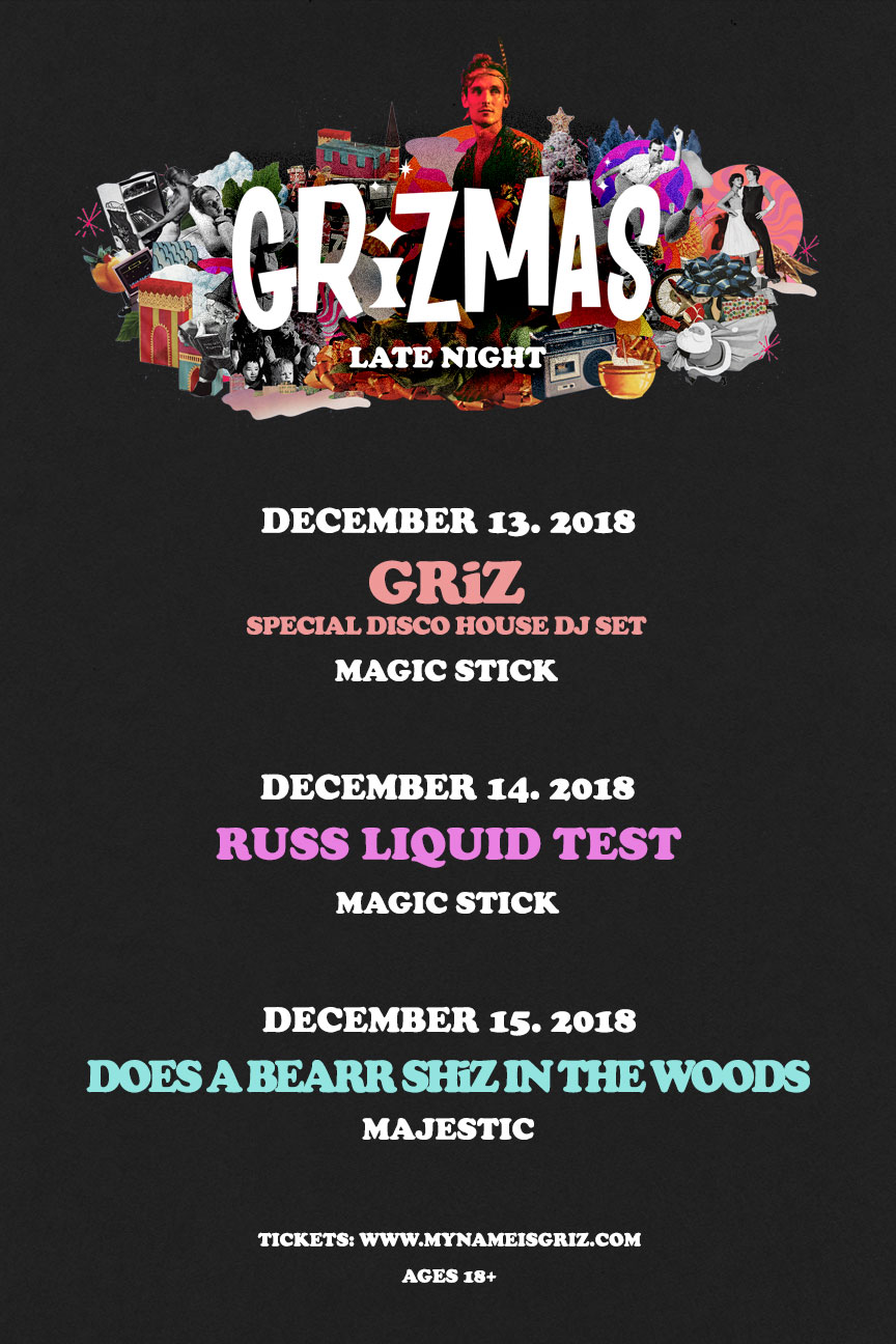 12 Days of GRiZmas is BACK! | Festival Squad